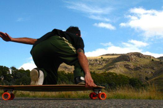 Longboarden, het echte beachgevoel.