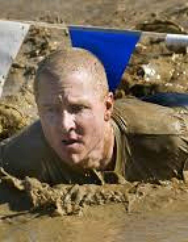 Alleen woeste mannen doen mee aan mud en obstacle runs!