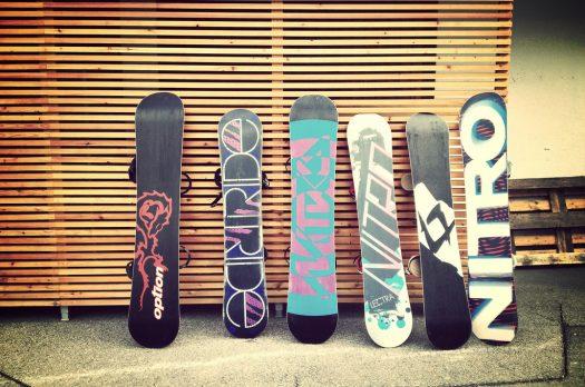 Hoeveel verschillende soorten snowboards zijn er?