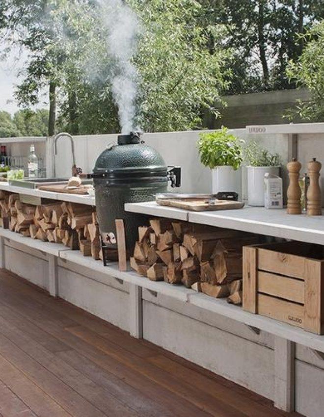 DIY Barbecue meubel
