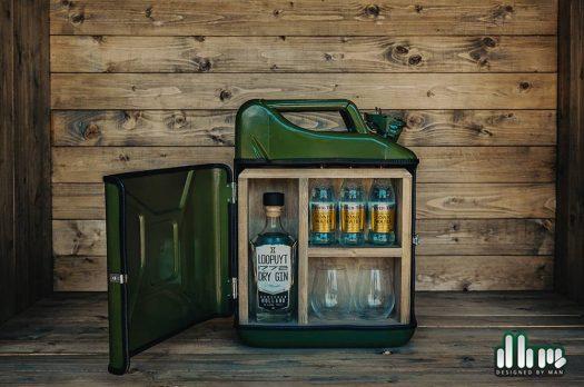 Het ultieme drankgeschenk: de geweldige Gin Bar van Designed by man