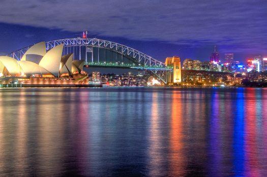 Backpack hotspots in Australië