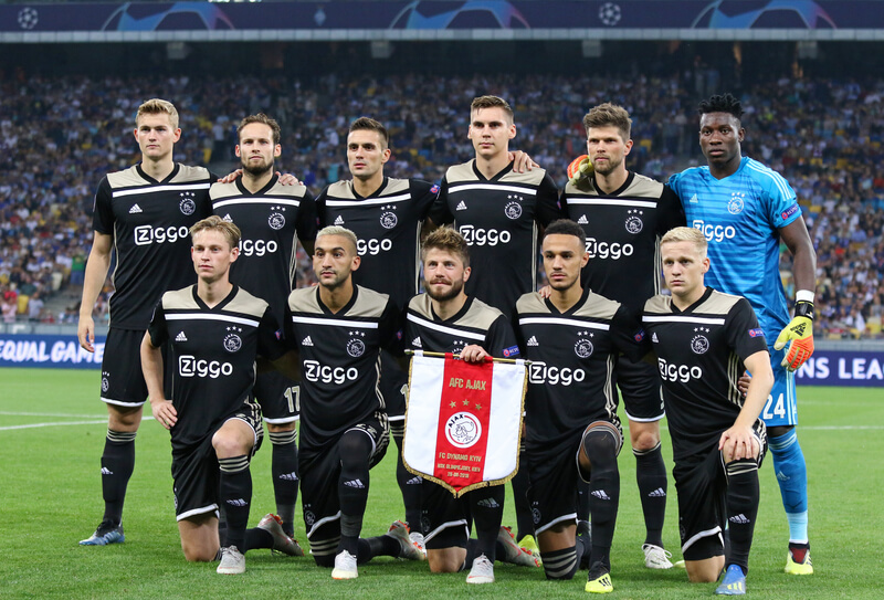 Ajax in de Champions League