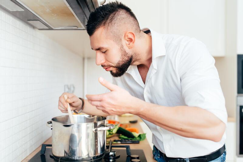 pasta gerecht voor het sporten