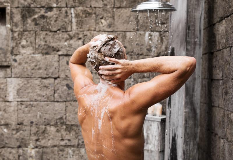 wanneer douchen