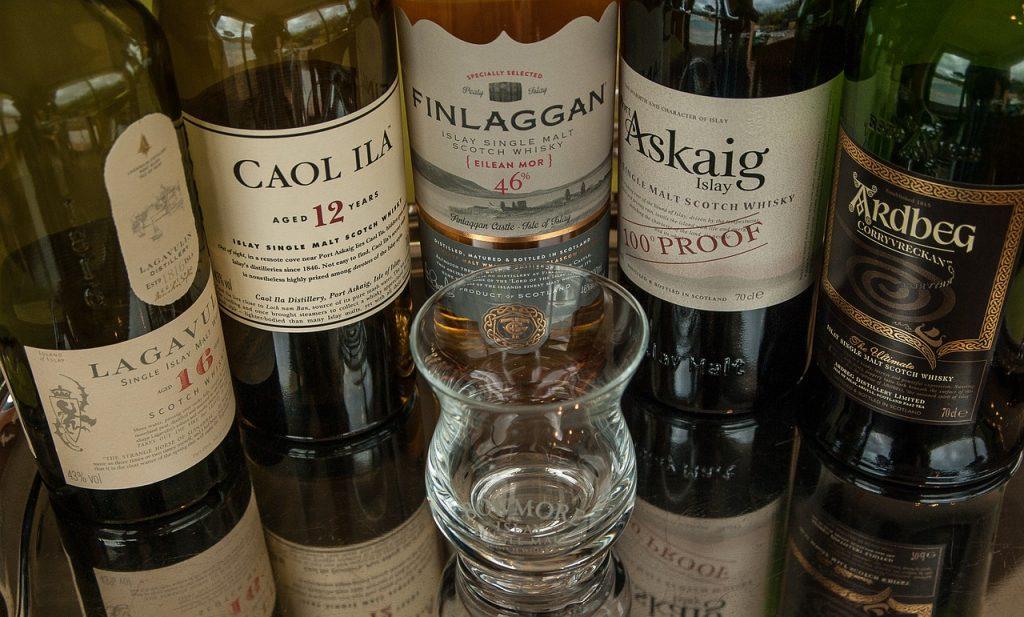 whisky reizen in Schotland