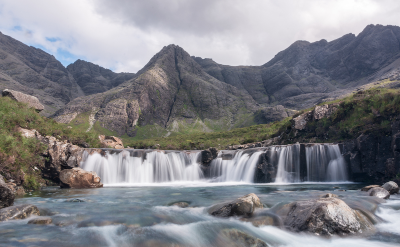 zwemmen in de Fairy Pools