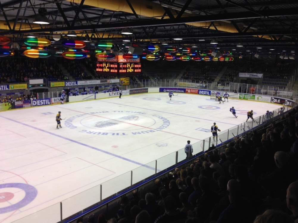 IJshockey kijken in Nederland