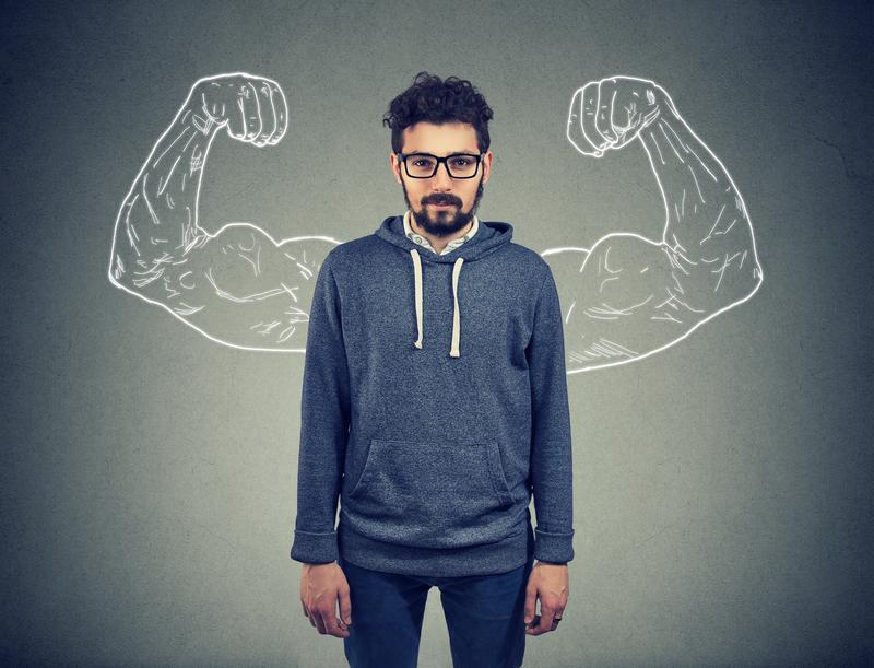 meer zelfvertrouwen voor mannen