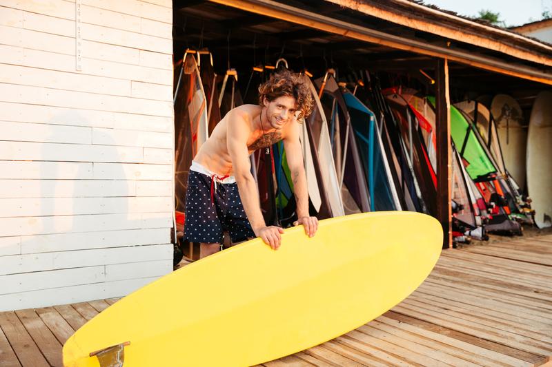 leren surfen buitenland