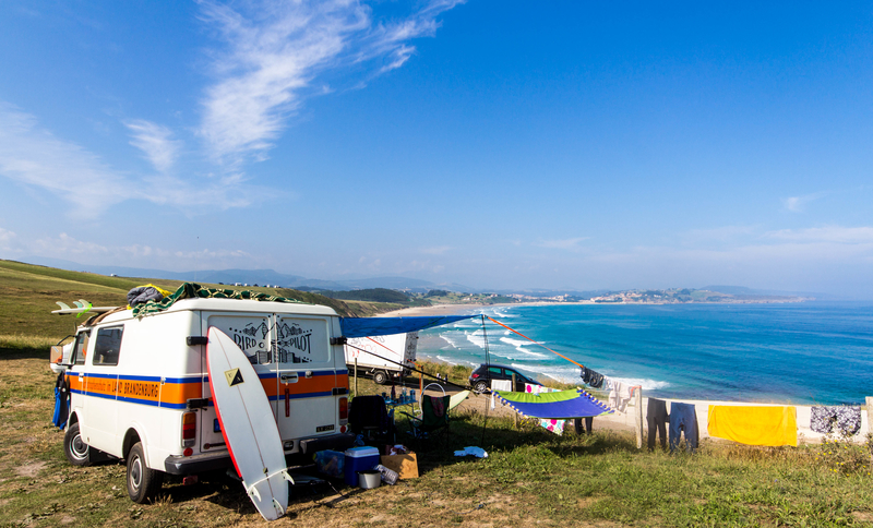 surfcamping in Frankrijk