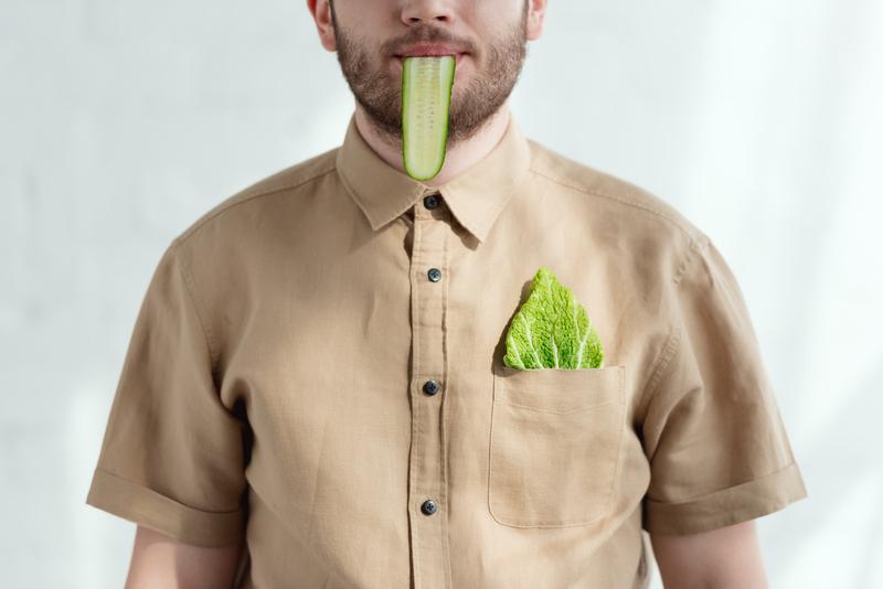 vegan man aantrekkelijk