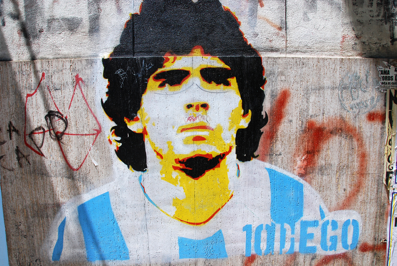 documentaire over Diego Maradona