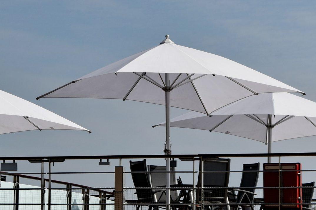 parasol schoonmaken
