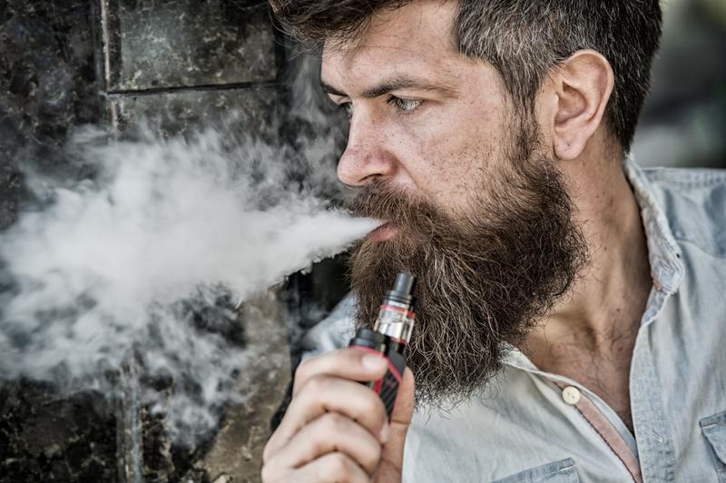 e-sigaret te roken