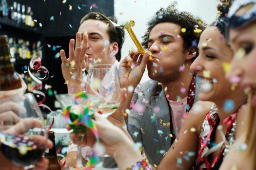 Hoe vier je een goed feestje?