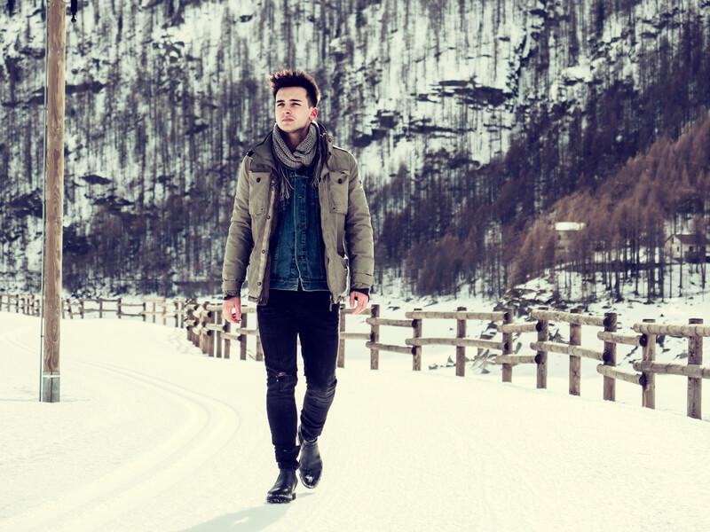Hoe loop je er als man stijlvol bij deze winter