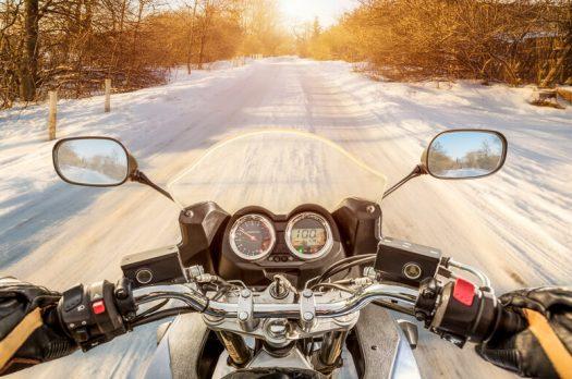 5 wintertips om met de motor naar het werk te gaan!
