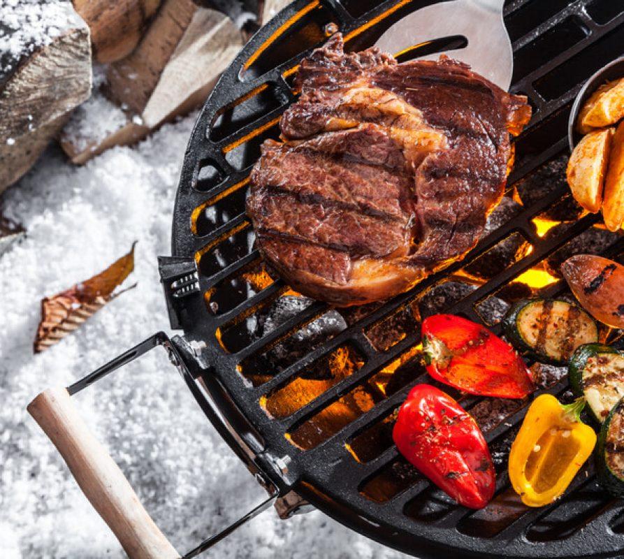 Ook in de winter kun jij je BBQ gewoon aanslingeren!