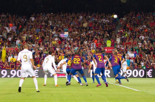 Goedkope voetbalreizen naar Spanje