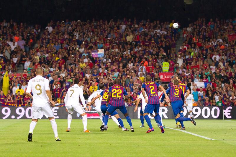 voetbalreizen naar spanje