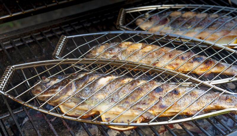 forel van de barbecue