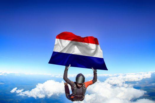 De beste plekken om te parachutespringen in Nederland