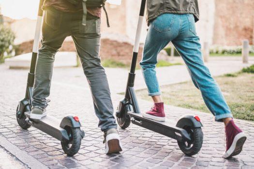 Is een elektrische step in Nederland legaal?