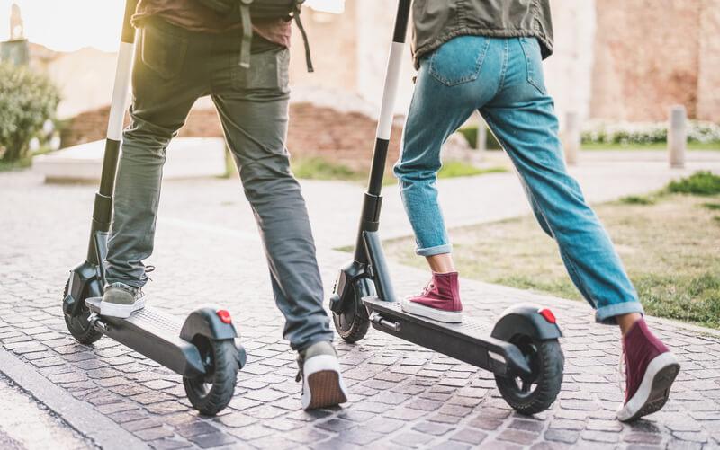 mag je in Nederland op een elektrische step rijden