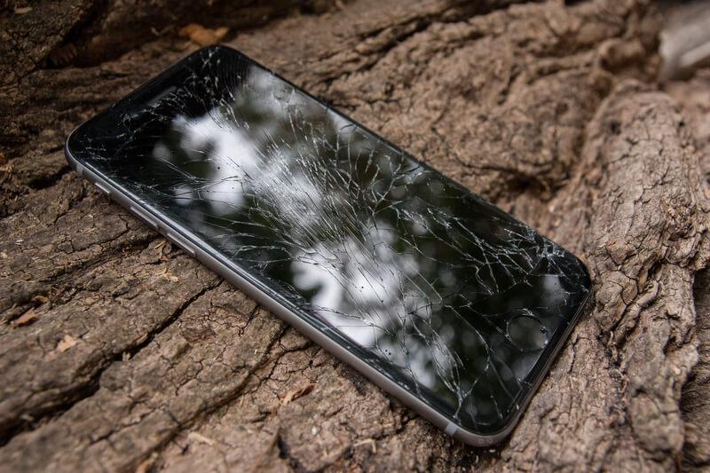 kapotte iphone