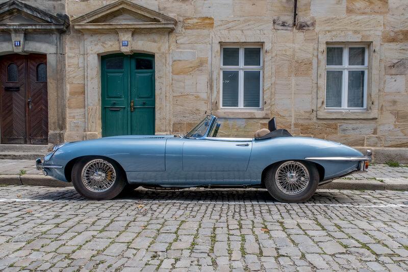 geschiedenis van de jaguar e type