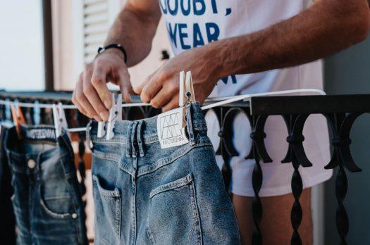 Amsterdenim: jeans met een duidelijke knipoog naar Amsterdam en zijn geschiedenis