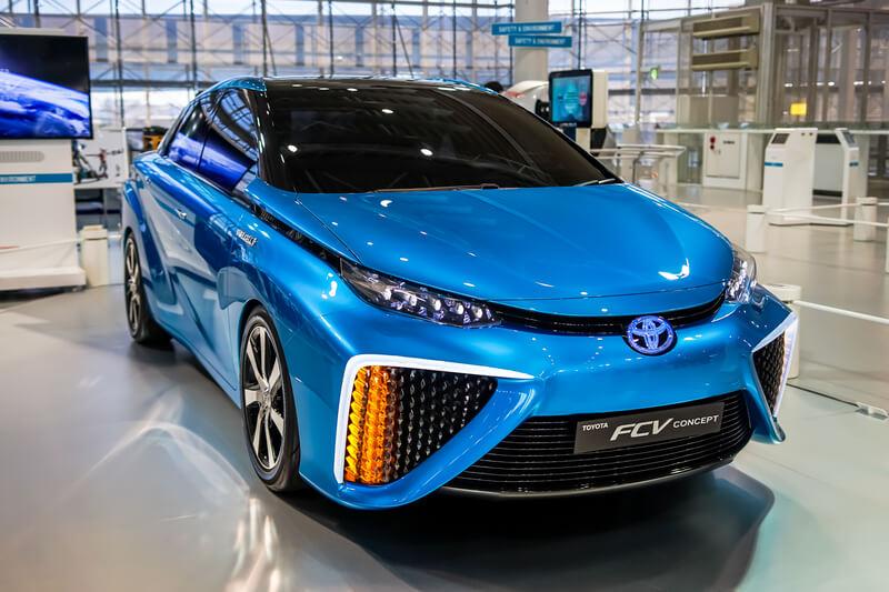 auto op waterstof