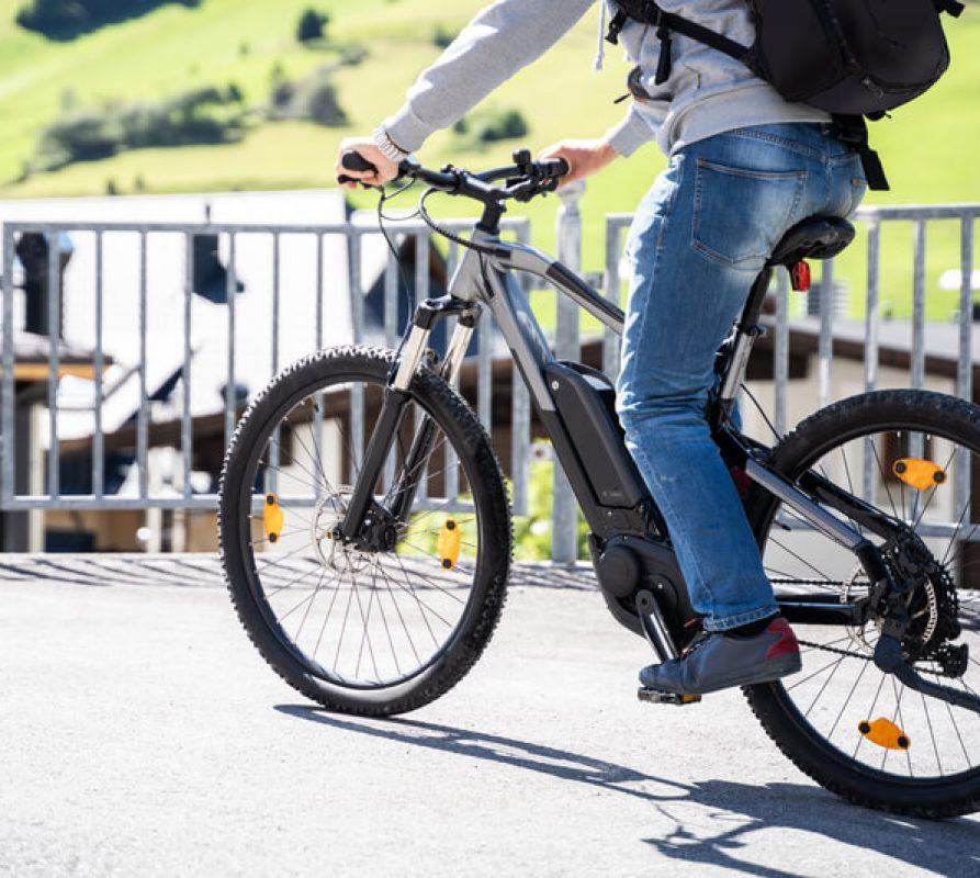 In vorm blijven met een e-bike