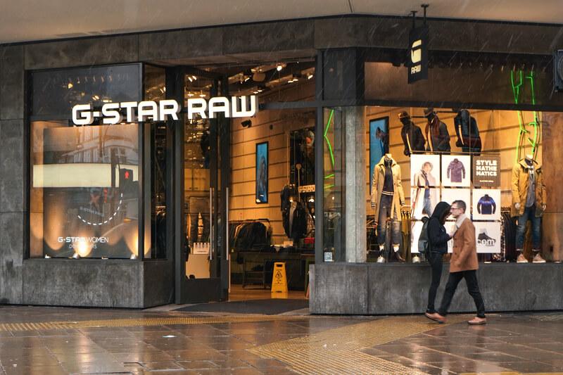 g star raw shop