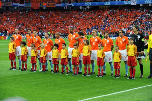 Een greep uit de successen van Nederland op grote voetbaltoernooien