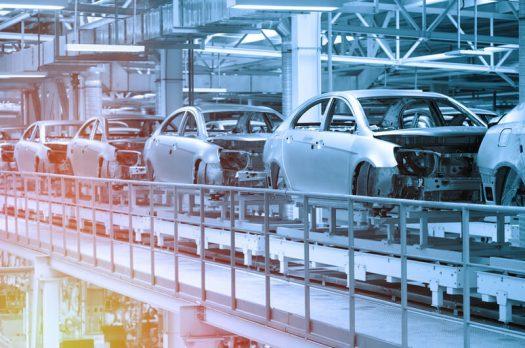De gehele auto industrie wordt getroffen door een tekort aan chips