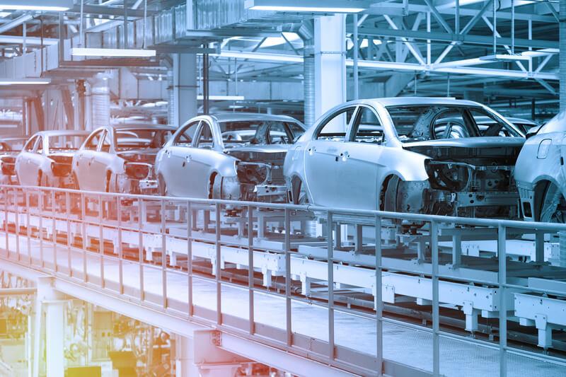 auto industrie tekort aan chips