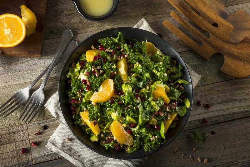 heerlijke salade maken