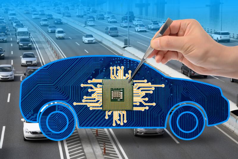 tekort aan chips in auto industrie