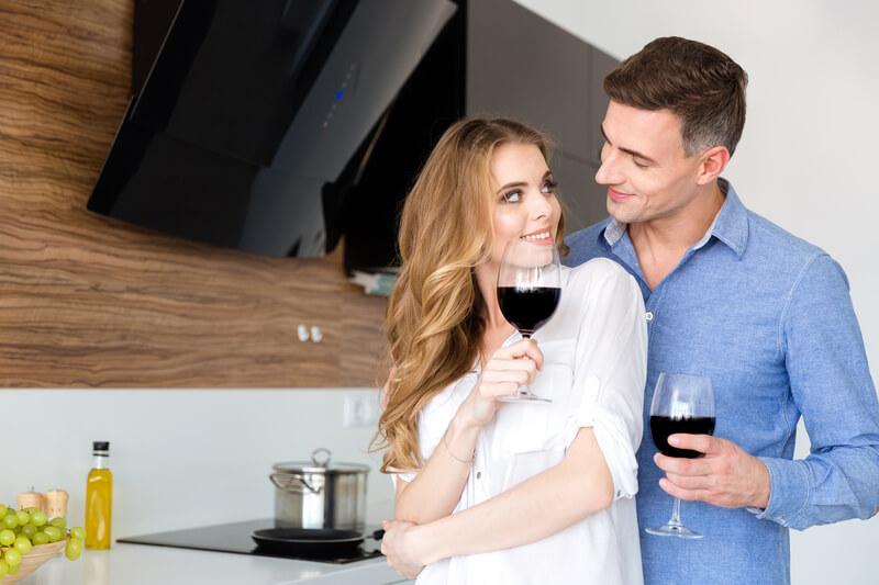 wijn om indruk te maken op je vriendin