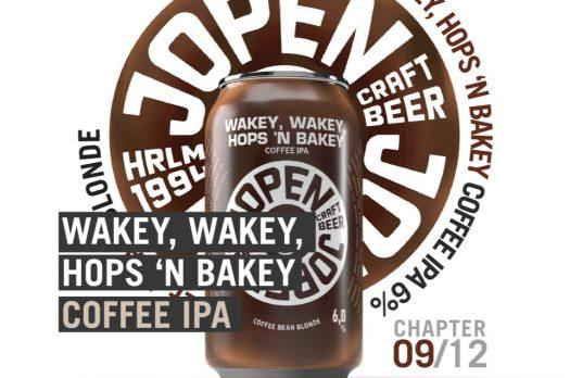 De Chapter Series van Jopen: elke maand een nieuw biertje met in september Wakey, Wakey, Hops 'n Bakey